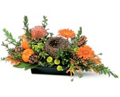 Visions of Autumn Centerpiece in Las Vegas NV, A Flower Fair