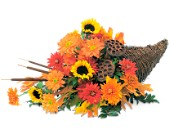 Brighton Flowers - Captivating Cornucopia - Watertown Main St. Florist, LLC