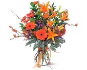 Autumn Sunshine in Evansville IN, Cottage Florist & Gifts