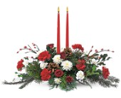 Holiday Delight Centerpiece in Port Orange FL, Port Orange Florist