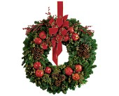 Pomegranate Wreath in The Woodlands TX, Top Florist