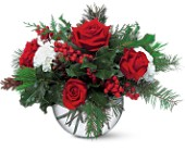 Christmas Bubble Bowl in Oakville ON, Margo's Flowers & Gift Shoppe