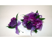 Purple Duo in Northfield MN, Forget-Me-Not Florist