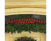 Door Garland with Apples in Memphis TN, Henley's Flowers And Gifts