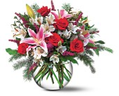 Holiday Happiness in San Francisco CA, Fillmore Florist