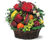 Fabulous Fruit Basket in Norwalk CT, Bruce's Flowers & Greenhouses