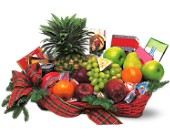 Fruit and Gourmet Basket in Ormond Beach FL, Simply Roses