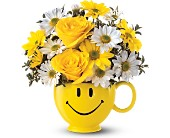 Teleflora's Be Happy� Bouquet in New York NY, ManhattanFlorist.com