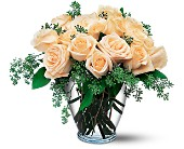 White Roses in Charlotte NC, Starclaire House Of Flowers Florist