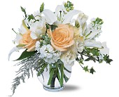 White Roses & Lilies in Norwich NY, Pires Flower Basket, Inc.