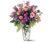 Pink Elegance Bouquet in Norwich NY, Pires Flower Basket, Inc.