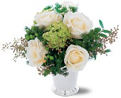 Silver Mint Julep Bouquet in Fairfield CA, Flower Basket