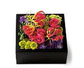 Pav� Texture Square in Fairfield CA, Flower Basket