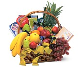 Gourmet Fruit Basket in Evansville IN, Cottage Florist & Gifts