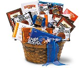 Chocolate Lover's Basket in Nationwide MI, Wesley Berry Florist, Inc.