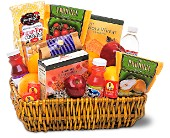 Healthy Gourmet Basket in Dallas TX, In Bloom Flowers, Gifts and More