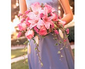 Pink on Pink Bouquet in Paris, Tennessee, Paris Florist and Gifts