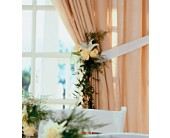 Home Ceremony Curtain Cluster in Victoria, British Columbia, Jennings Florists