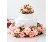Sweet Visions Wedding Cake Decoration in Victoria, British Columbia, Jennings Florists