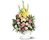 Basket of Faith in Largo FL, Rose Garden Flowers & Gifts, Inc