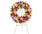Eternity Wreath in Carol Stream IL, Fresh & Silk Flowers