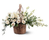 Basket of Light in Largo FL, Rose Garden Flowers & Gifts, Inc
