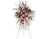 Pink Promise Spray in Cocoa FL, A Basket Of Love Florist