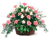 Pink Reverence Arrangement in Jamestown NY, Girton's Flowers & Gifts, Inc.