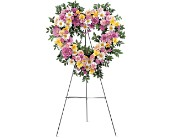 Loving Heart Tribute in Largo FL, Rose Garden Flowers & Gifts, Inc