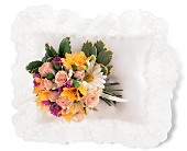 Spring Satin Pillow Cluster in Nationwide MI, Wesley Berry Florist, Inc.