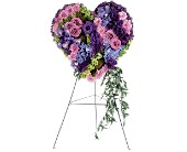 Graceful Tribute Heart in Nationwide MI, Wesley Berry Florist, Inc.