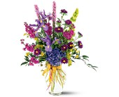 Lush Lavenders Bouquet in Largo FL, Rose Garden Flowers & Gifts, Inc