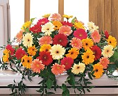 Uplifting Thoughts Casket Spray in Roselle Park, New Jersey, Donato Florist