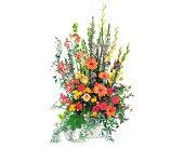 Summer Sentiments Arrangement in Nationwide MI, Wesley Berry Florist, Inc.