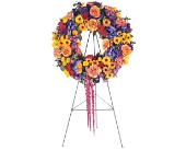 Celebration Wreath in Nationwide MI, Wesley Berry Florist, Inc.