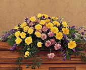 Eternal Hope Casket Spray in Oklahoma City OK, Capitol Hill Florist and Gifts