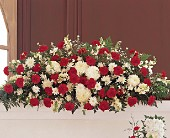 Hope and Honor Casket Spray in Largo FL, Rose Garden Flowers & Gifts, Inc