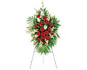 Red Funeral Flowers - Delivered to Washington, DC
