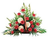 Cherished Moments Fireside Basket in Nationwide MI, Wesley Berry Florist, Inc.