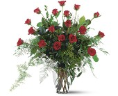 Red Rose Tribute Vase in Nationwide MI, Wesley Berry Florist, Inc.