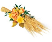 Harvest of Hope Sheaf in Nationwide MI, Wesley Berry Florist, Inc.