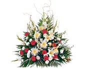 Glory and Grace Arrangement in Nationwide MI, Wesley Berry Florist, Inc.