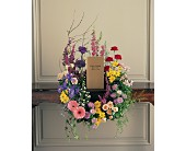 Cremation Urn Wreath in Eden Prairie, Minnesota, Belladonna Florist