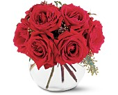 Gathering of Roses in Nationwide MI, Wesley Berry Florist, Inc.
