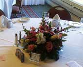 TABLE ARRANGEMENT in Lansing MI, Smith Floral & Greenhouses