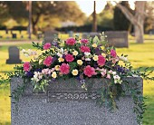 Monument Memorial Flowers in Nationwide MI, Wesley Berry Florist, Inc.