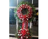 Eltingville Florist Wreath of Roses in Staten Island NY, Eltingville Florist Inc.