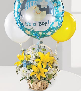 The Boys are Best!� Bouquet in Chicago IL, Yera's Lake View Florist