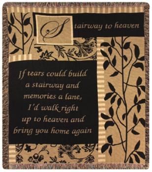 Stairway to Heaven Throw Blanket in Ambridge PA, Heritage Floral Shoppe