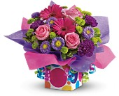 Teleflora's Confetti Present in Nationwide MI, Wesley Berry Florist, Inc.